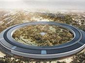Apple nouvelles images Campus depuis hélicoptère