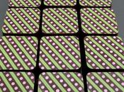 Chocolats fins ganache fraises sauvages pistache