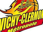 Basket logo nouveau club J.A. Vichy-Clermont Métropole