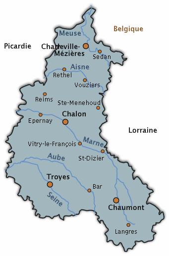 ~La région Champagne-Ardenne et ses spécialités~
