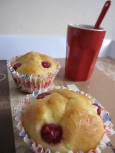 ~Petite cake moelleux aux groseilles~