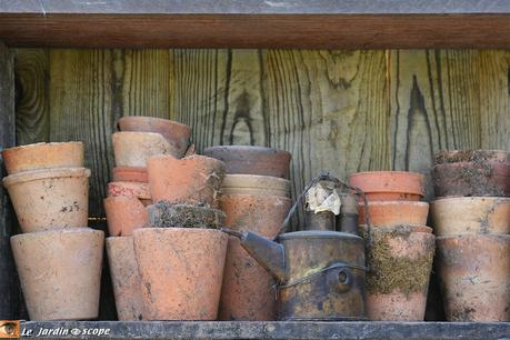 Collection de pots en terre cuite
