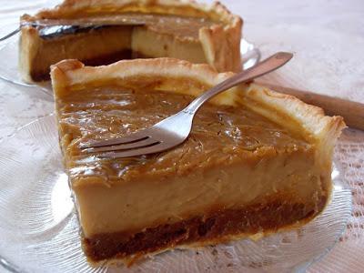 tarte au flan caramel pain d 39 pices vegan paperblog. Black Bedroom Furniture Sets. Home Design Ideas