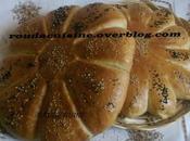 Khobz eddar sans pétrissage recette2 الدار