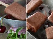 Popsicles cerises {Foodista Challenge