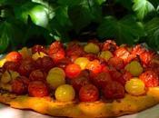 Tarte fine tomates cerises