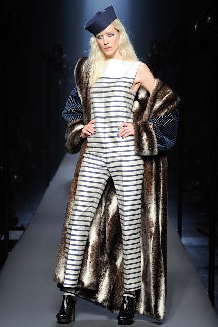 Vive la bretagne au d fil jean paul gaultier haute couture paperblog - Jean paul gaultier mariniere ...