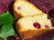 Gâteau amandes cerises Almond Cherry Cake