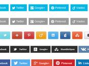 Intégrer barre partage blog WordPress