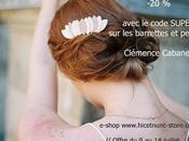 -20% peignes barrettes cuir Clémence Cabanes.