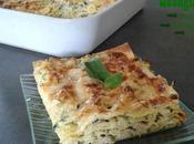 Lasagnes courgettes menthe ricotta