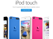 Apple Store iPod Touch disponible, prix euros