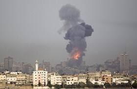 Les avions de guerre sionistes ciblent la bande de Gaza