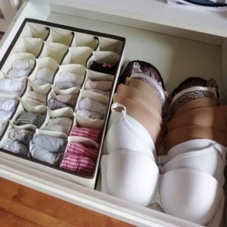Organiser vos tiroirs de sous v tements lire - Astuce rangement sous vetement ...