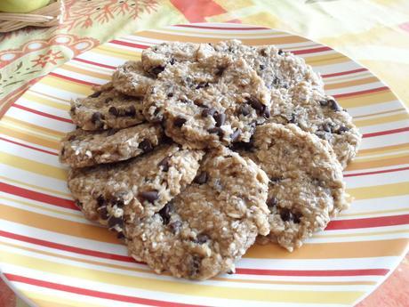 Cookie léger noix de coco et chocolat