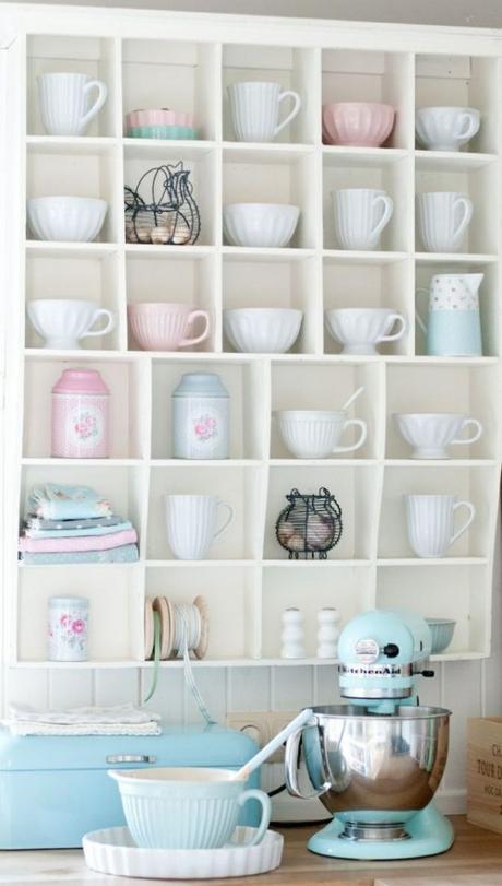 envie de retro pastel dans ma cuisine lire. Black Bedroom Furniture Sets. Home Design Ideas