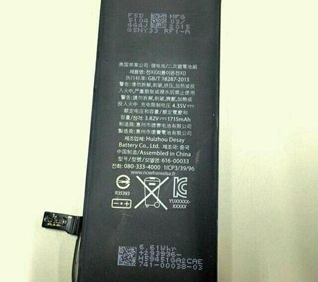 Serait-ce la batterie de l'iPhone6c? (Photo : Nowhere Else)