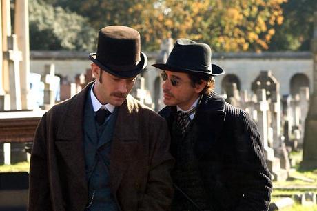Sherlock Holmes...élémentaire mon cher Ritchie!! (elle était facile)