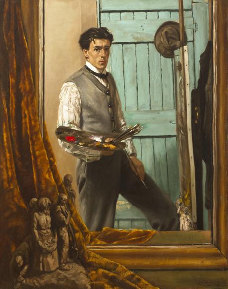 Le peintre en son miroir 3 de la vanit la virtuosit for Autoportrait miroir