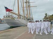 Rouen accueille navire chilien Esmeralda