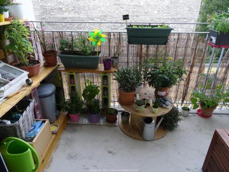 am nager son balcon pour l t paperblog. Black Bedroom Furniture Sets. Home Design Ideas