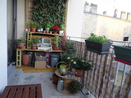 amnager un balcon amenager son balcon pas cher central de. Black Bedroom Furniture Sets. Home Design Ideas