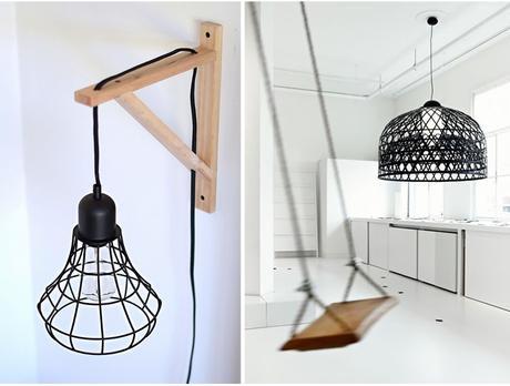 les luminaires cage d couvrir. Black Bedroom Furniture Sets. Home Design Ideas