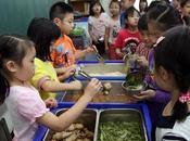 enfants défavorisés n'ont repas réguliers