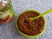 crème dessert caroube crue konjac kcal (allégée, diététique, hypocalorique, sans sucre oeuf, riche fibres)