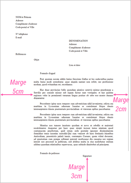 courrier administratif   comment bien r u00e9diger une lettre