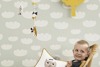 papier peint pour une chambre d enfant paperblog. Black Bedroom Furniture Sets. Home Design Ideas