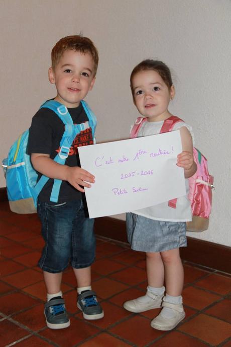 La rentr e des jumeaux en maternelle et les questions des - La rentree des mamans ...