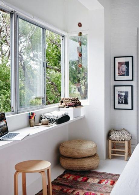 Cr er un coin bureau fonctionnel et cosy dans un espace - Creer un bureau ...