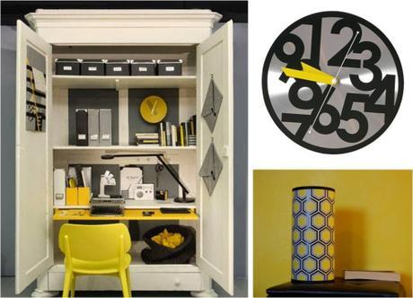 aujourd hui on opte pour un espace de travail dans les tons paperblog. Black Bedroom Furniture Sets. Home Design Ideas