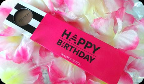 Le cadeau d'anniversaire Sephora