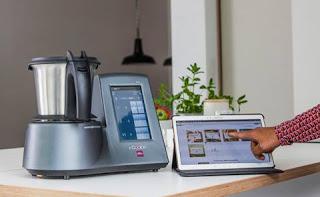 i cook in le 1er robot chauffant multifonctions connect paperblog. Black Bedroom Furniture Sets. Home Design Ideas
