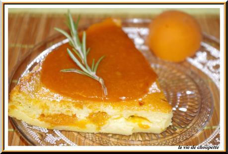 gâteau magique abricots et romarin-35