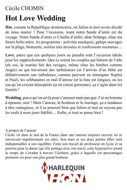 Attachez vos ceintures et embarquez pour le Hot Love Wedding de Cécile Chomin