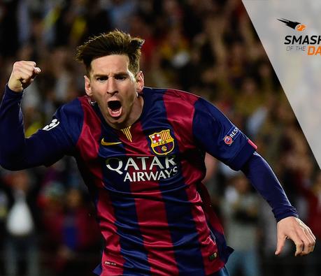 Messi, centenaire en Ligue des champions