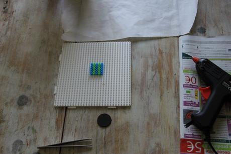 comment faire des aimants avec des perles repasser hama paperblog. Black Bedroom Furniture Sets. Home Design Ideas