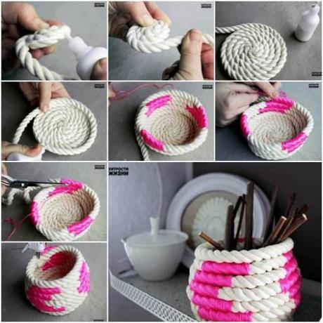 DIY : Réalisez un panier en corde tendance fluo En ce début...