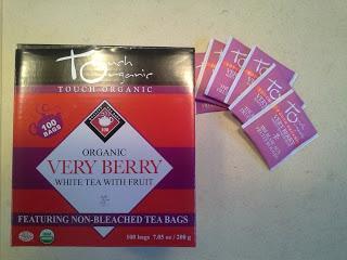 thé glacé fruité