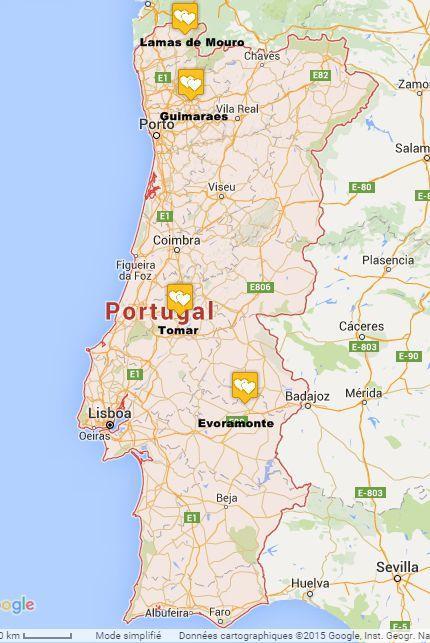 Camping au Portugal en famille nombreuse