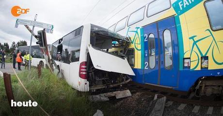 Train vs bus - Les enfants saufs