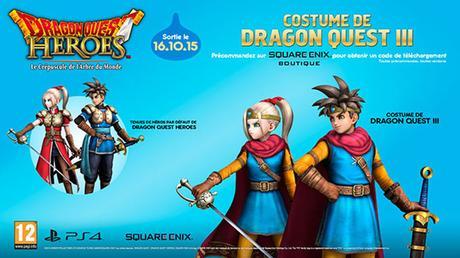 Dragon Quest Heroes : Le Crépuscule de l'Arbre du Monde avec tous les DLC