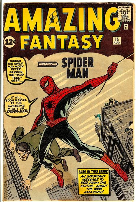 Marvel Comics-Spider Man-1962