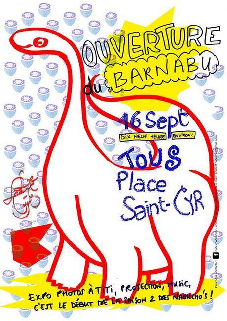 OUVERTURE du CAFE ASSOCIATIF BARNABU à Béziers