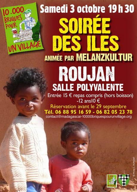 Samedi 3 Octobre : Soirée des îles à Roujan