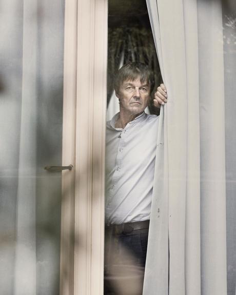 Nicolas Hulot, dans son bureau, à Paris ce mardi.