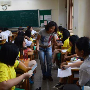 Dans les coulisses : Un petit tour de l'école de Taiwan !!